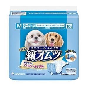 【宅配便配送】ユニ・チャーム ペット用紙オムツ 小〜中型犬用 Mサイズ 10枚|cattery-branche