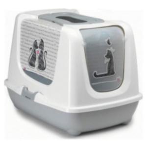 【宅配便配送】トレンディキャット キャットラブ 猫トイレ レストルーム|cattery-branche
