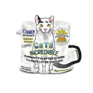 【宅配便配送】キャットインクレディブル 猫砂 無臭 6.35kg cattery-branche