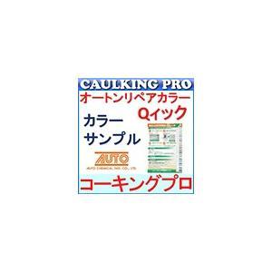 【色見本】オートン リペアカラーQィック 色見本帳【送料込・お支払いは同梱の郵便振替用紙で】|caulking-pro
