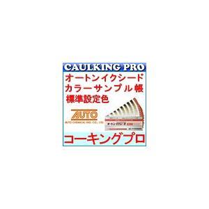 【色見本】オートン イクシード カラーサンプル帳 標準設定色【代引は条件有】|caulking-pro