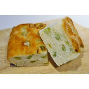 枝豆とパルミジャーノチーズのフォカッチャ|cavacavallo