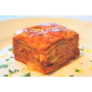 トマトとモッツアレラチーズのミルフィーユラザニア|cavacavallo