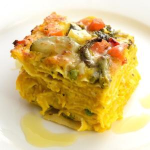 彩り野菜の ミルフィーユラザニア|cavacavallo