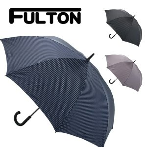 フルトン FULTON 傘 メンズ 雨傘 長傘 KNIGHTSBRIDGE-2 City Stripe ストライプ ブラック G451|cavatina