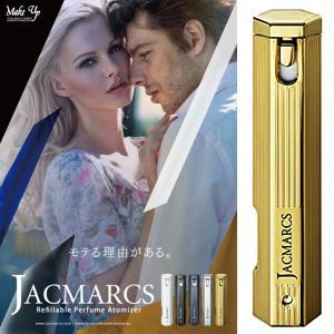 ジャックマルクス JACMARCS 香水アトマイザー リフィラブル パフューム アトマイザー ヘキサゴナルシェイプ 3.7ml ゴールド JAM1045|cavatina