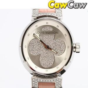 ルイヴィトン LOUIS VUITTON 腕時計 タンブールフォーエヴァー ダイヤ レディース クォーツ Q131P|cawcaw
