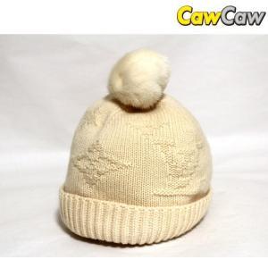ルイヴィトン LOUIS VUITTON ニット帽 フロコン・ドゥ・ネージュ M72227 美品|cawcaw