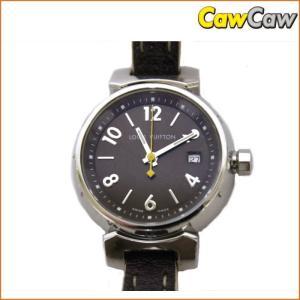 ヴィトン タンブール Q1211 RD0474 スタッズ付 腕時計 クォーツ LOUIS VUITTON|cawcaw