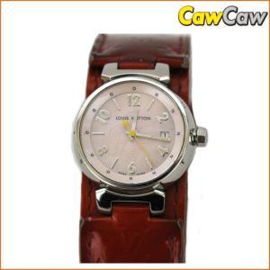 ヴィトン タンブール Q1216 腕時計 クォーツ レディース LOUIS VUITTON|cawcaw