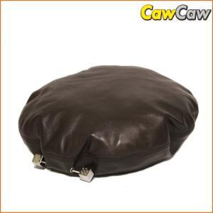 ルイヴィトン  LOUIS VUITTON ベレー帽 ラムスキン ブラウン メンズ|cawcaw