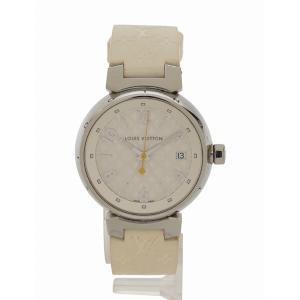 ヴィトン Q1313 タンブール ホログラム クォーツ ボーイズ 時計|cawcaw