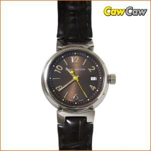 ルイヴィトン 腕時計/タンブール/Q1211 レディース クォーツ/ブラウンベルト LOUIS VUITTON|cawcaw