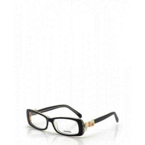 シャネル CHANEL リボン メガネ ブラックフレーム ココマーク 眼鏡 メガネ 黒 クリア 5520 黒縁|cawcaw