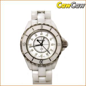 シャネル J12 H1628 12Pダイヤ クオーツ 腕時計 レディース CHANEL|cawcaw
