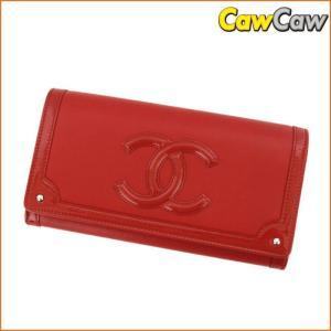 シャネル CHANEL 2つ折り 長財布 CC フラップ ココマーク A80852 新品sa|cawcaw
