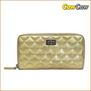 シャネル 財布 A69207 2.55 ゴールドマトラッセ 長財布 ラウンドファスナー CHANEL|cawcaw