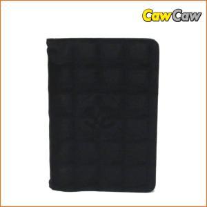 シャネル ニュートラベルライン ココマーク アジェンダ 手帳カバー ブラック CHANEL|cawcaw