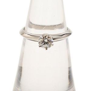 TIFFANY&Co. ティファニー ソリテイア リング プラチナ ダイヤ 指輪 9号|cawcaw