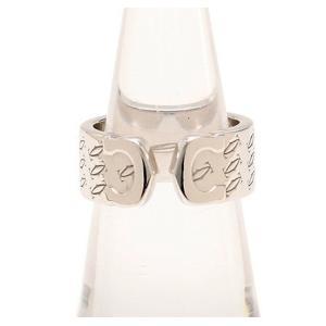カルティエ C2 ハッピーリング K18WG #50 10号 2000年クリスマス限定 Cartier 指輪|cawcaw