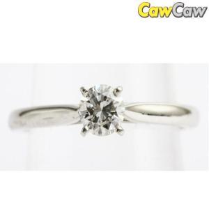 カルティエ 指輪 Pt950 ソリテール ダイヤ リング Cartier|cawcaw