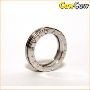 ブルガリ ビーゼロワン K18WG リング 9号 6.6g 指輪 BVLGARI|cawcaw