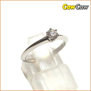 ティファニー D0.24 Pt950 3.1g  TIFFANY&Co. 指輪|cawcaw