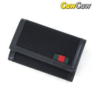 グッチ GUCCI 6連 キーケース ナイロン レザー ブラック 278592 未使用品|cawcaw