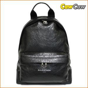 バレンシアガ  BALENCIAGA リュック ネイビーバッグパック エクスクルーシブ ブラック 409010 新品|cawcaw