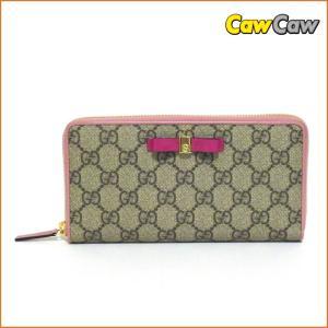 グッチ ラウンドファスナー 財布 GGスプリーム キャンバス ジップアラウンドウォレット 388680 GUCCI|cawcaw