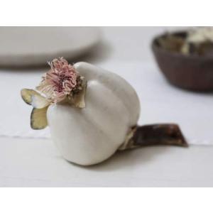 一輪挿し 花器 白い花 花瓶 陶器 おしゃれ ドライフラワー nakanaka52|cayest