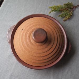 軽量 耐熱 土鍋 すきやき鍋 28cm 浅型 3−4人用 かっこいい 廣川純 【さいえ特別価格】|cayest