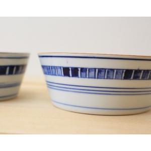 小鉢 鉢 ボウル キューブ 和食器 京都染付 磁器 日本製|cayest