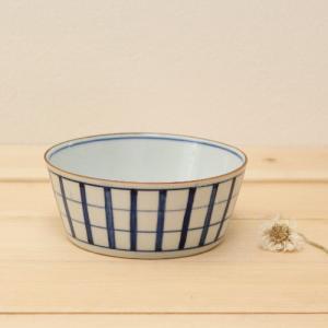 格子模様 チェック 小鉢  鉢 ボウル 和食器 京都染付 日本製|cayest