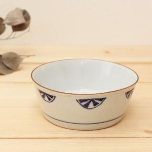 オレンジ模様 小鉢 鉢 ボウル 陶峰窯 和食器 京都染付 日本製|cayest