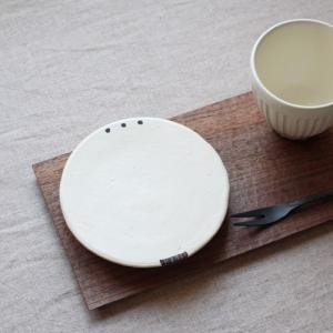 ケーキ皿 小皿 丸皿 銘々皿 フラットプレート 13cm 廣川みのり 絵付け|cayest