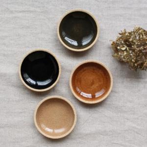 小皿 豆皿 8.5cm 内釉 河原崎優子 信楽焼 和食器 カラフル おしゃれ かわいい|cayest