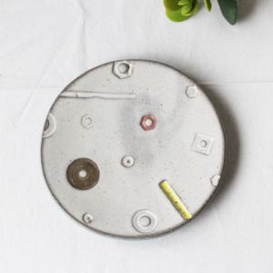 toolsプレート 丸皿 取り皿 銘々皿 15.5cm 三宅直子 陶器 和食器 おしゃれ|cayest