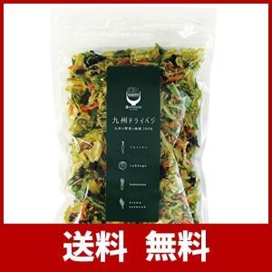九州ドライベジ 乾燥野菜 九州産 野菜&わかめ ミックス 100g 1袋