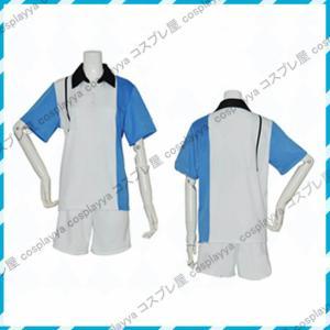 【商品名】コスプレ衣装  テテニスの王子様  氷帝学園夏ユニ2点セット               ...