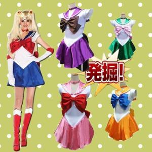 美少女戦士セーラームーン風/コスプレ衣装セット/仮装/パーティー/