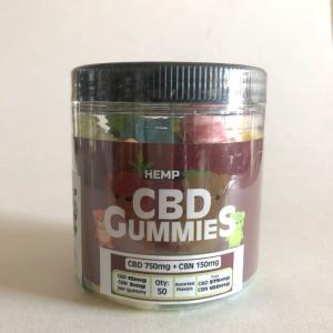 CBDグミ HEMPBaby CBD15mg 50個  CBD750mg含有 快眠 生活リズム  睡眠 サプリ|cbd-life