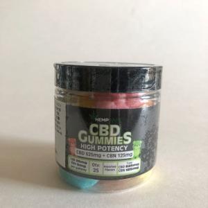CBDグミ HEMPBaby CBD25mg 25個  CBD625mg含有 快眠 生活リズム  睡眠 サプリ|cbd-life