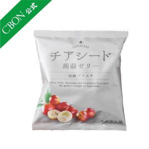 シーボン.公式 チアシード 蒟蒻ゼリー 発酵プラス カムカム味 1袋10個入り C'BON シーボン