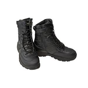 SWAT ミリタリーブーツ ジャングルブーツ タクティカルブーツ 黒色 ブラック