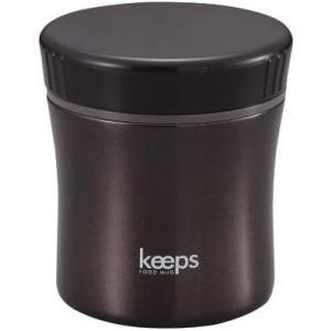パール金属 スープ ジャー 400ml ブラック 保温 保冷 フード マグ キープス HB-272|cc2021