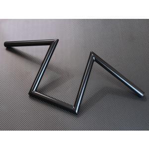 個性的ながら幅広いスタイルにマッチするロボハン(Zバー)です。 スチール製ブラック(パウダー塗装)仕...