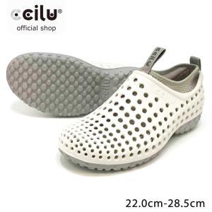 オフィス サンダル レディース メンズ ナース シューズ 靴 スリッポン 白 ホワイト 仕事 上履き 看護 介護 軽量 軽い cciilu チル|ccilu