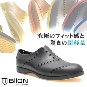BiiON バイオン ゴルフシューズ CLASSICS BCL-1001 ウイングチップ メンズ レディース スパイクレス アウトドア|ccilu