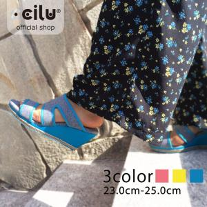 サンダル レディース チル ccilu betty-pulu ミュール ウエッジソール 靴 アウトドア|ccilu